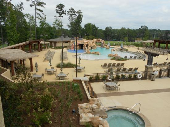 View From Our Balcony Picture Of Auburn Marriott Opelika Hotel Conference Center At Grand