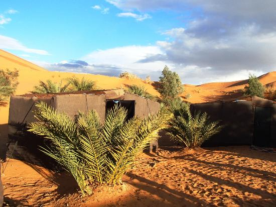 "Dar Tafouyte: Our ""tent"" in the oasis"
