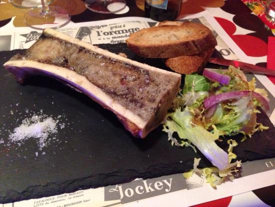 Bone marrow appetiser entree picture of le bastringue annecy tripadvisor - Le bastringue annecy ...