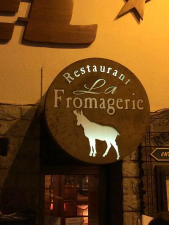 La Fromagerie : l'enseigne