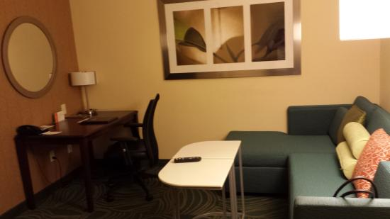 SpringHill Suites Dallas DFW Airport East/Las Colinas Irving : Seating Area
