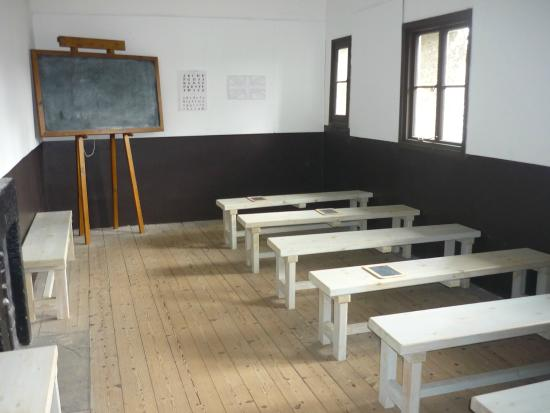 "Beaumaris Gaol: The ""school"" room"