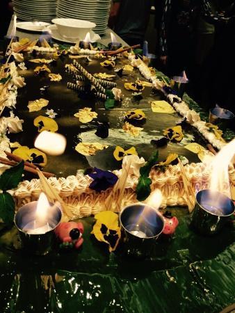 Hotel Diamant : la super torta del cenone di san silvestro!! strepitosa!!