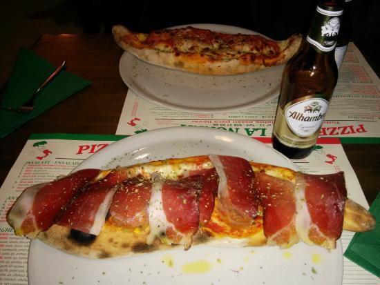 2 calzone con alhambra especial foto di pizzeria la nonna granada tripadvisor - Pizzeria la nonna ...