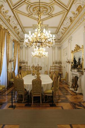 Museo Revoltella : sala da pranzo