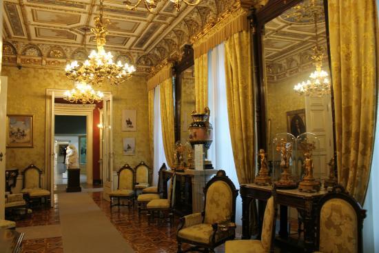 Museo Revoltella : sala adiacente sala da pranzo