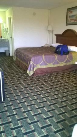 Super 8 Ocala: Room 111, looks okay at first glance