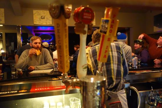 Village Cafe: Delicious Cold Beer on Tap