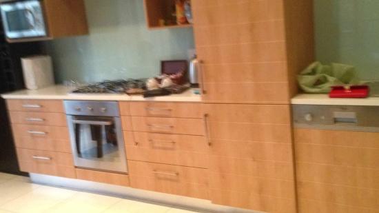 Premier Resort The Moorings (Knysna): the kitchen