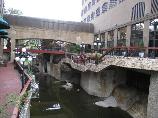 Hilton Garden Inn Austin Downtown/Convention Center: Small Stream Runs  Outside The Property.