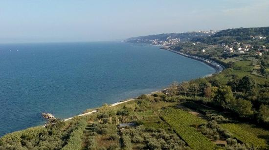 Punta dell'Acquabella: Dal colle dell'acquabella.