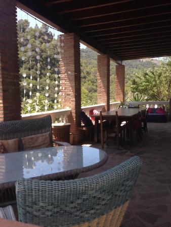 El Convento Retreat: terrace