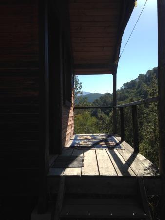 El Convento Retreat: cabin balcony
