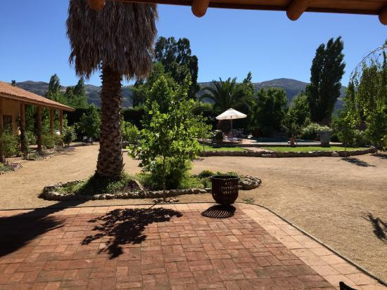 Posada Colchagua: View from living room