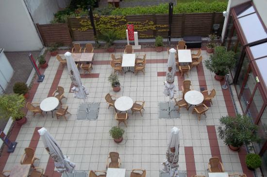 Kranz Parkhotel: la terraza