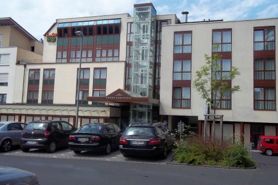 Kranz Parkhotel: la parte de atrás