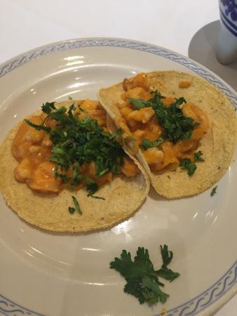 El Cardenal Alameda : Tacos de camarón