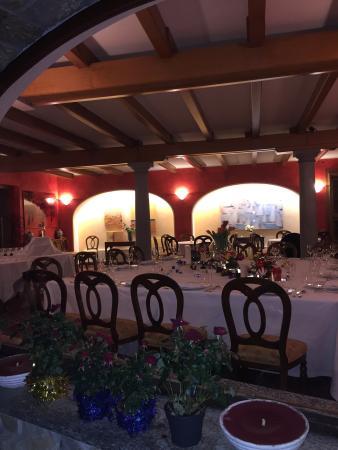 Baia Beniamin: Una parte del ristorante