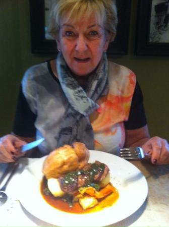 The Plough Inn Restaurant: lamb roast lovely