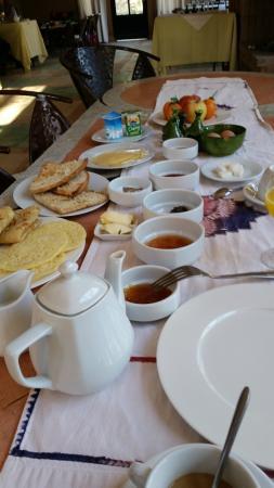 Dar Azawad: desayuno, sobrado