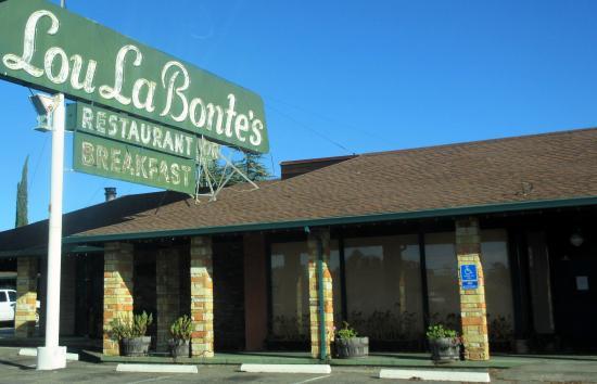 Lou La Bonte S Restaurant Auburn Ca