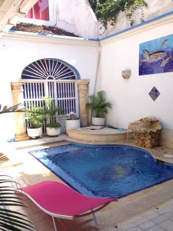 Casa de la Chicheria: Piscina