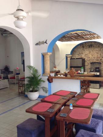 Casa de la Chicheria: Comedor y cocina