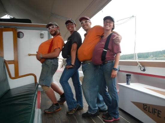 Rockland Sailing Co.: 愉快な船員