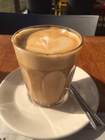 Union Cafe: Pefect coffee.
