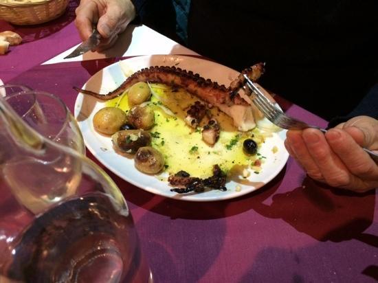 A Toca: Polpo con le patate