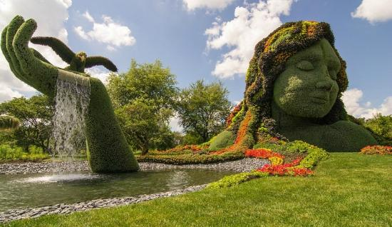 Charmant Montreal Botanical Gardens: Amazng Sculpture Exhibit!