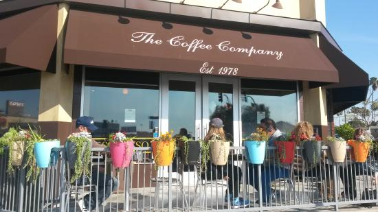 Coffee Company: Entrance to Cafe