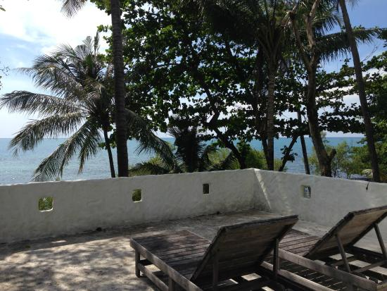 Warapura Resort: on top of our room- great for sun bathing or star gazing