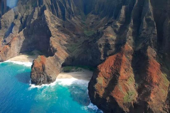 Cliffs at Princeville: see what nature has created