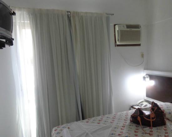 Hotel Praiamar: ar antigo e barulhento