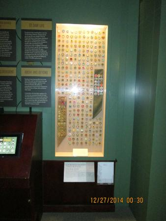 National Scouting Museum : All the merit badges!