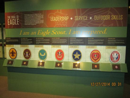National Scouting Museum : Rank