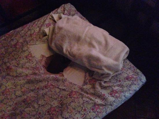 The Spa Garden: Pretty worn out sheets