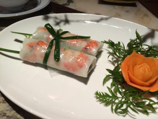 Mandarin : 生春巻き