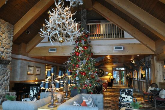 Seattle Christmas.Lounge At Christmas Picture Of The Edgewater A Noble