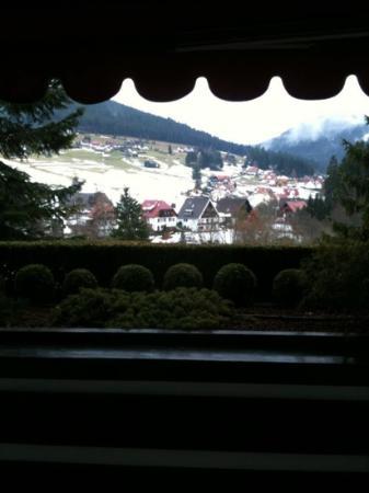 Hotel Bareiss : vue de notre chambre