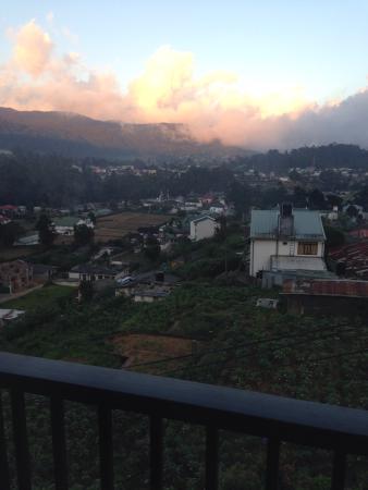 Villa de Roshe : View from the hotel