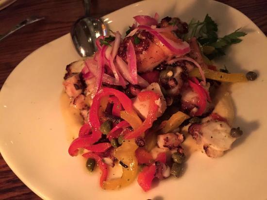 Estia Greek Taverna: Grilled Octopus - sublime