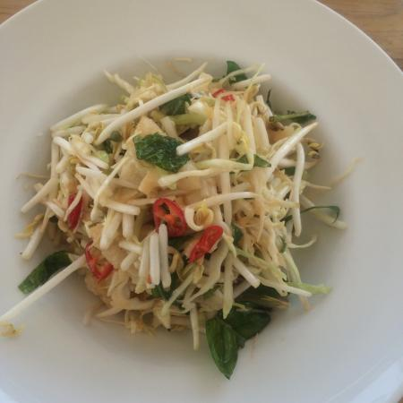 The Apple Shed Cafe & Bar: Squid salad