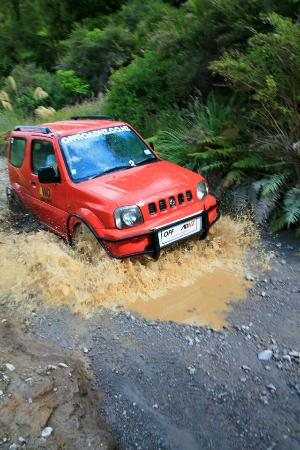 Off Road NZ: One of the many water crossings