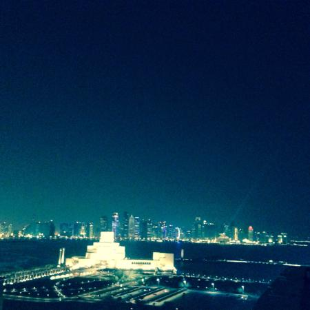 Best Western Plus Doha : View from the roof