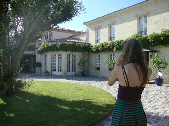 Domaine de Larchey : The lovely Chateau