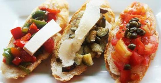 Mediterraneo Spanish & Italian Restaurant : Our bruschetta.