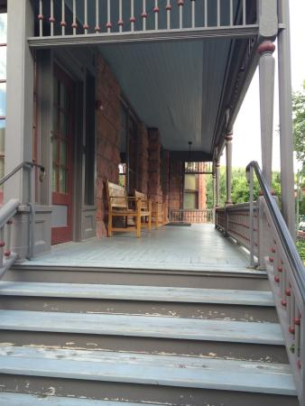 Adams House: Front porch