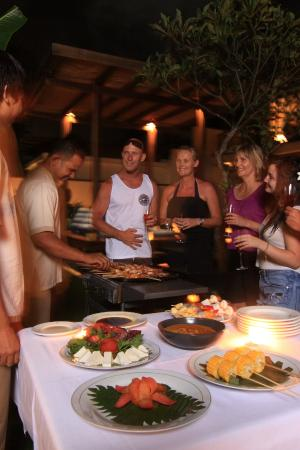 Temple Hill Residence Villa: BBQ Party